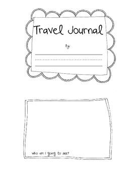 Travel Journal for Little Hands!