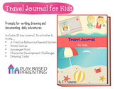 Travel Journal for kids - Drawing, writing & character dev