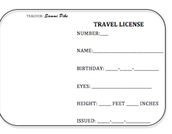 Travel License
