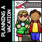 Travel - Life Skills - Planning a Dream Vacation - Special Education - Reading