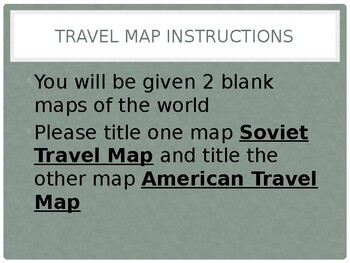 Travel Maps PowerPoint