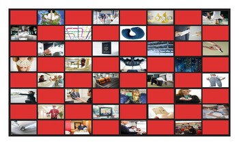 Travel Modes and Things Legal Size Photo Checkerboard Game