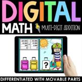 Travel Multi-Digit Addition Practice - Digital - Interacti