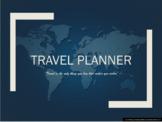 Travel Planner/Brochure Template - Editable