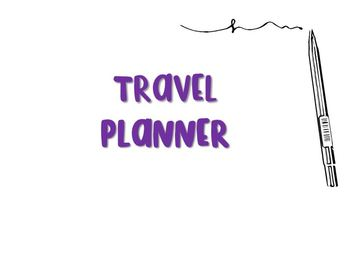 Travel Planner (Free Page Updates)