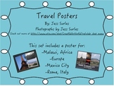 Travel Posters for the Classroom