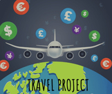 Travel Project Bundle: Teacher PowerPoint & Student Booklet