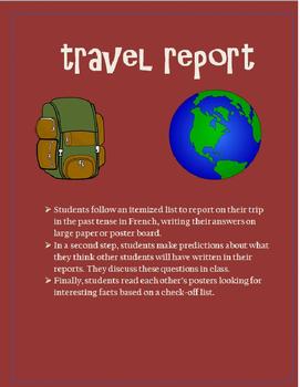 Travel Report Passé Composé FRENCH