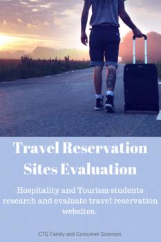 Travel Reservation Sites Evaluation