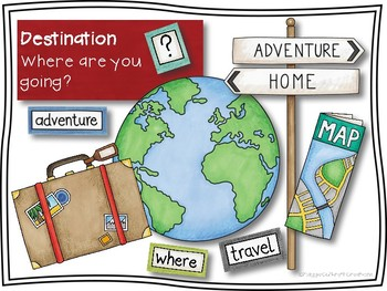 Travel Sequencing and Writing Prompts