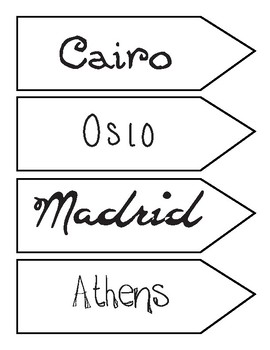 Travel Signs