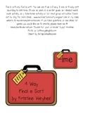 Travel Suitcase Final e Silent e Literacy Center Game