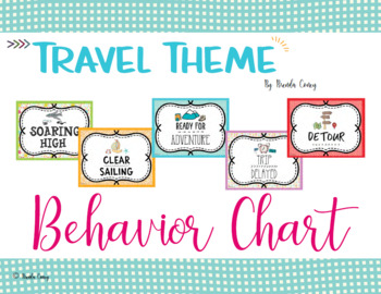 Travel Theme Behavior Chart