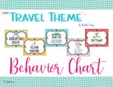 Travel Theme Behavior Chart