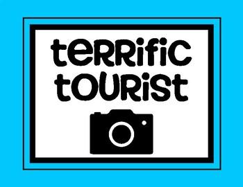 Travel Theme Behavior Clipchart Set!