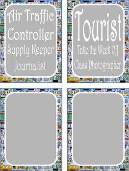 Travel Theme Class Jobs