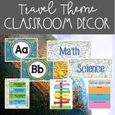 Travel Theme Classroom