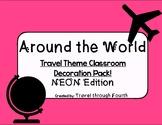 Travel Theme Classroom Decor Pack!