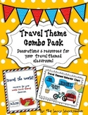 Travel Theme Combo Pack