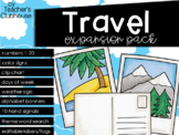 Travel Theme Decor {Expansion Pack}