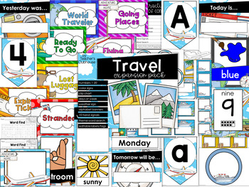 Travel Theme Decor {Expansion Pack}