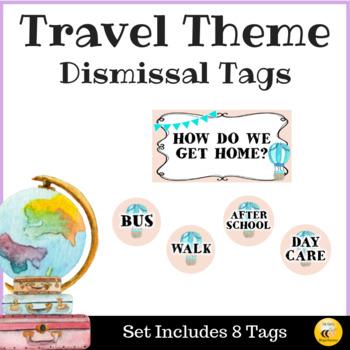 Travel Theme Dismissal Tags