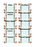 Travel Theme Luggage Job Tags