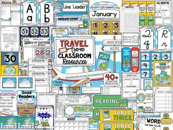 Travel Theme Decor Pack