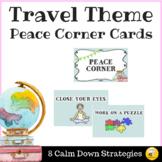Travel Theme Peace Corner Posters