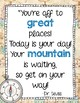 Travel Theme Inspirational Quotes Posters