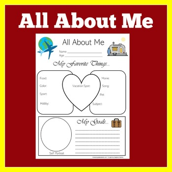 Travel Theme | Travel Classroom Theme | All About  Me