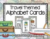 Travel Themed Alphabet Cards
