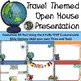 Travel Themed Back to School Open House Powerpoint