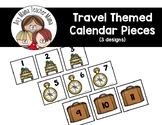 Travel Themed Calendar Pieces