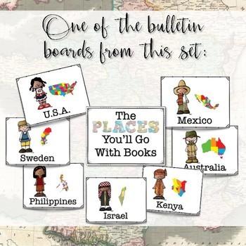 Travel-Themed Classroom Decor Set
