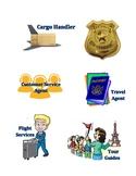 Travel Themed Classroom - Job Posters