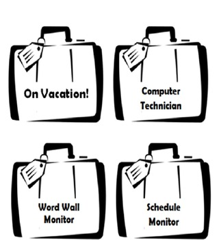 Travel-Themed Classroom Jobs
