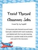 Travel Themed Classroom Jobs