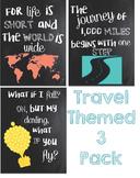 Travel Themed Classroom Printables Bundle