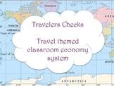 Travel Themed Classroom Travelers Checks