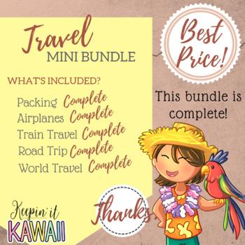 Travel Themed Clip Art (Growing Bundle)