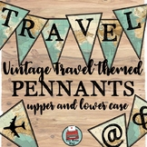Travel Themed Pennants