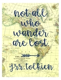 Travel Themed Quote Poster