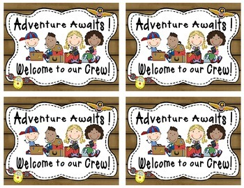 Travel-Themed Welcome Back to School postcards 3rd grade