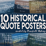 History Quote Posters for Any Social Studies Classroom