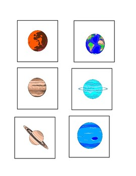 Travel Through Space Math Challenge