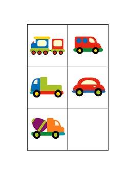 Travel Time File Folder Game - Sorting Transportation Modes