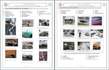 Travel & Transportation (B): Car Accidents Bundle (Adult ESL)