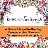 Travel Unit: Authentic Practice Reading: Cómo pasar rápido