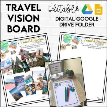 Travel Vision Board FREEBIE